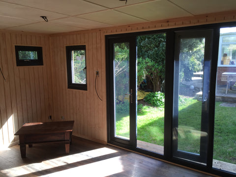 Internal Photo 3 Contemporary Garden Office Complete - Downton Salisbury