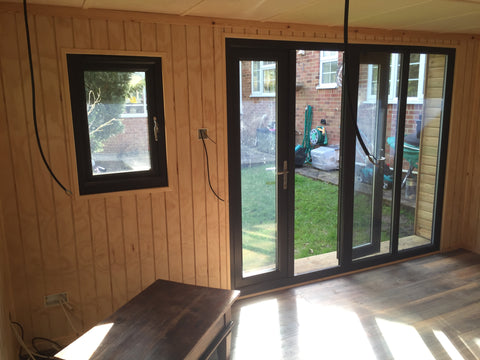 Internal Photo 2 Contemporary Garden Office Complete - Downton Salisbury