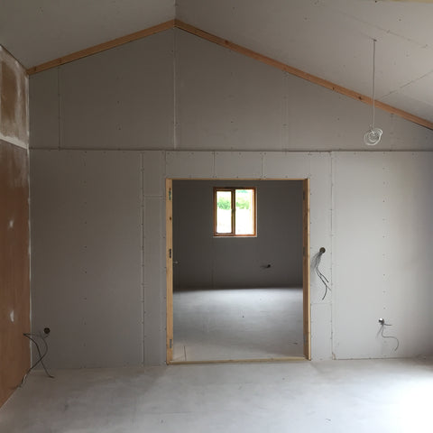 Cropredy Marina, Banbury, Oxford - New Sales Office Plaster Boarding