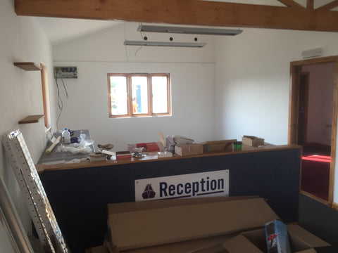 Cropredy Marina, Banbury, Oxford - New Sales Office Reception Area