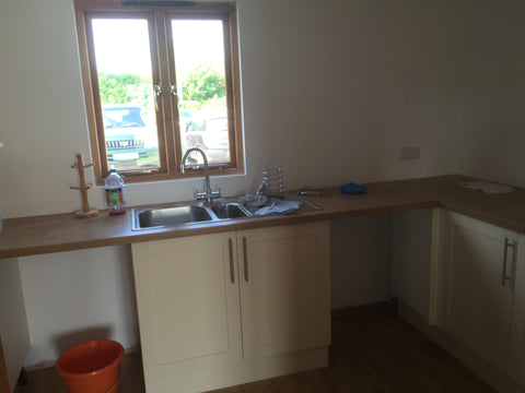 Cropredy Marina, Banbury, Oxford - New Sales Office Kitchen Area