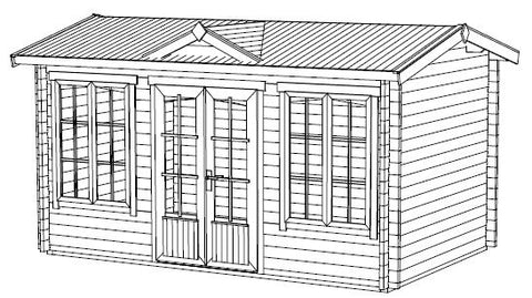 The Kensington Log Cabin Installation Instructions