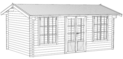 The Pembrokeshire Log Cabin Installation Instructions