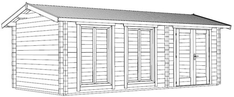 The Shetland Log Cabin Installation Instructions