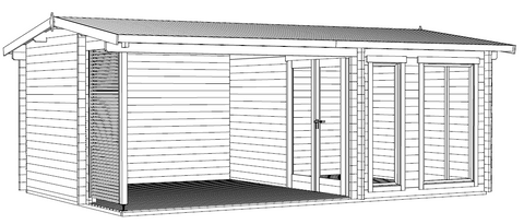 The Torquay Log Cabin Installation Instructions
