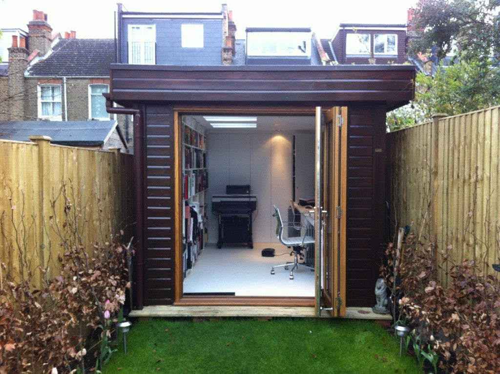 2.4m X 5.0m Contemporary Garden Office, With A Mono Roof And Bi Fold Part 92