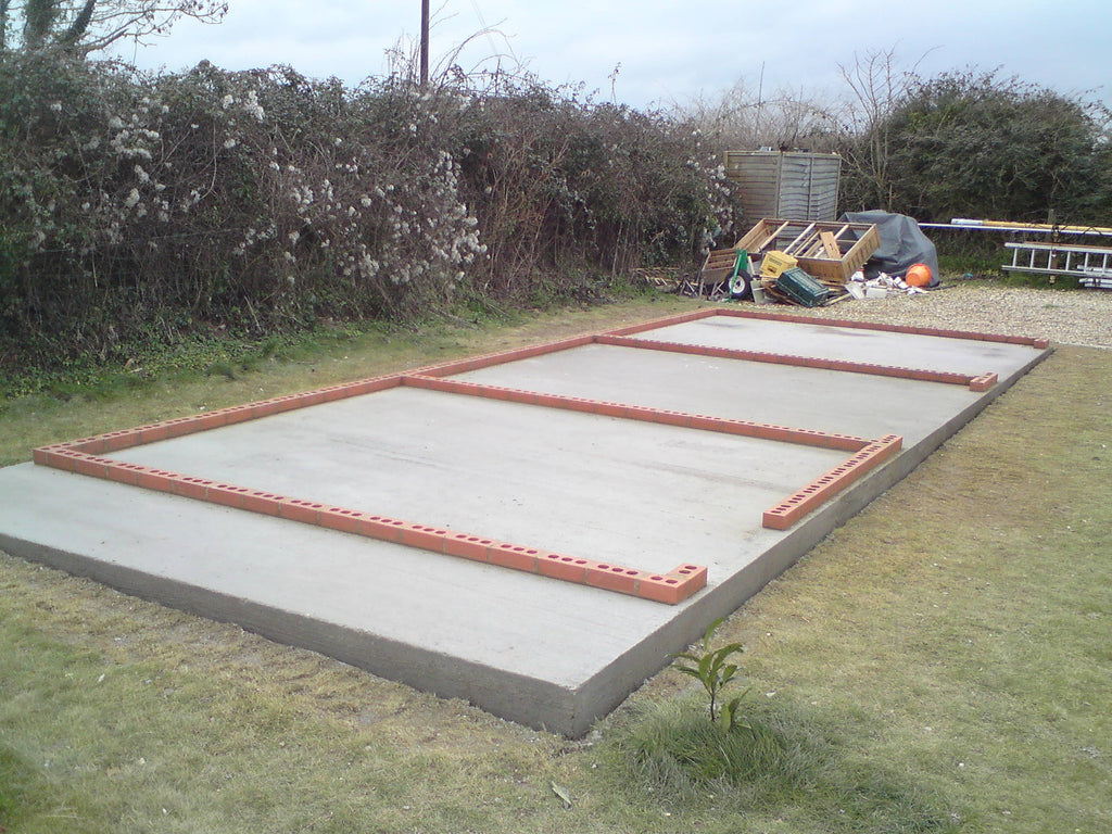 concrete base laying services garden retreat