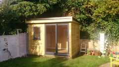 3.0m x 2.4m £5,500.00 Garden Office or Garden Pod