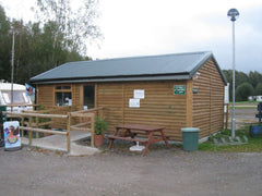 Greenhill Farm Campsite Timber Framed Business Unit with Metal Rollaclad Roof and Feather Edge Cladding