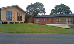 Two Timber Framed Classrooms