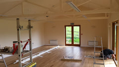 Insulating, Boarding and Finishing of a Timber Frame Farm Shop