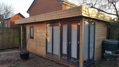 6.2m x 3.6m Contemporary Garden Office used as a Beauty Salon 30 of 31