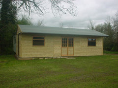 36ft x 12ft Cricket Pavilion - Used by Local Cricket Club as a Changing Room