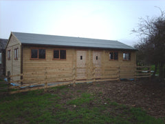 30ft x 16ft Cricket Pavilion - Used by Local Cricket Club as a Changing Room