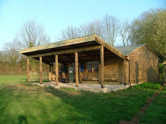 Specially Designed Timber Framed Building and Roof for Village Hall