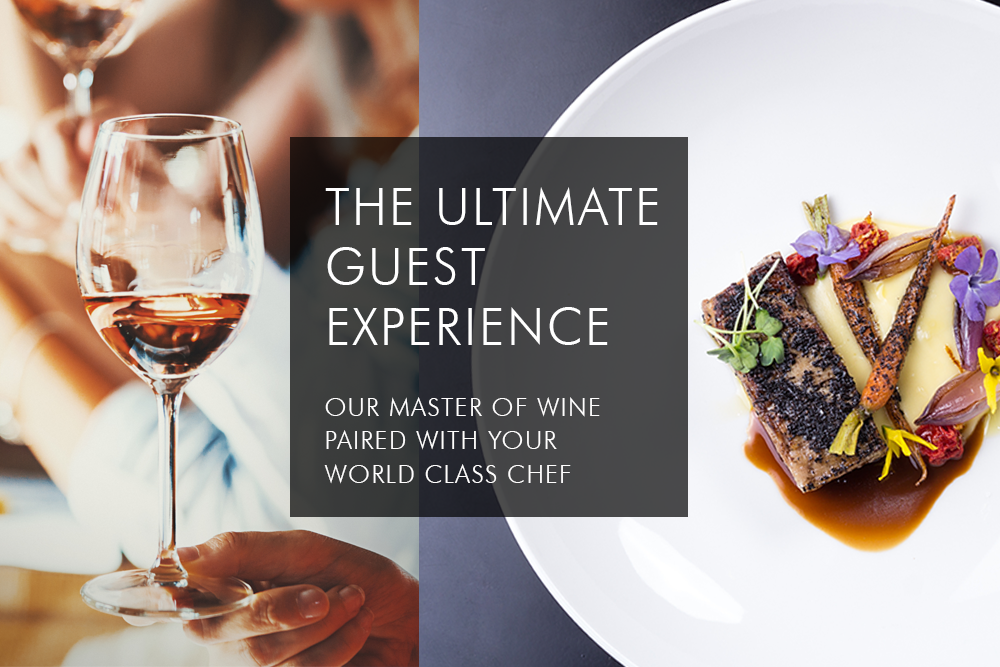 The ultimate wine experience for yacht guests