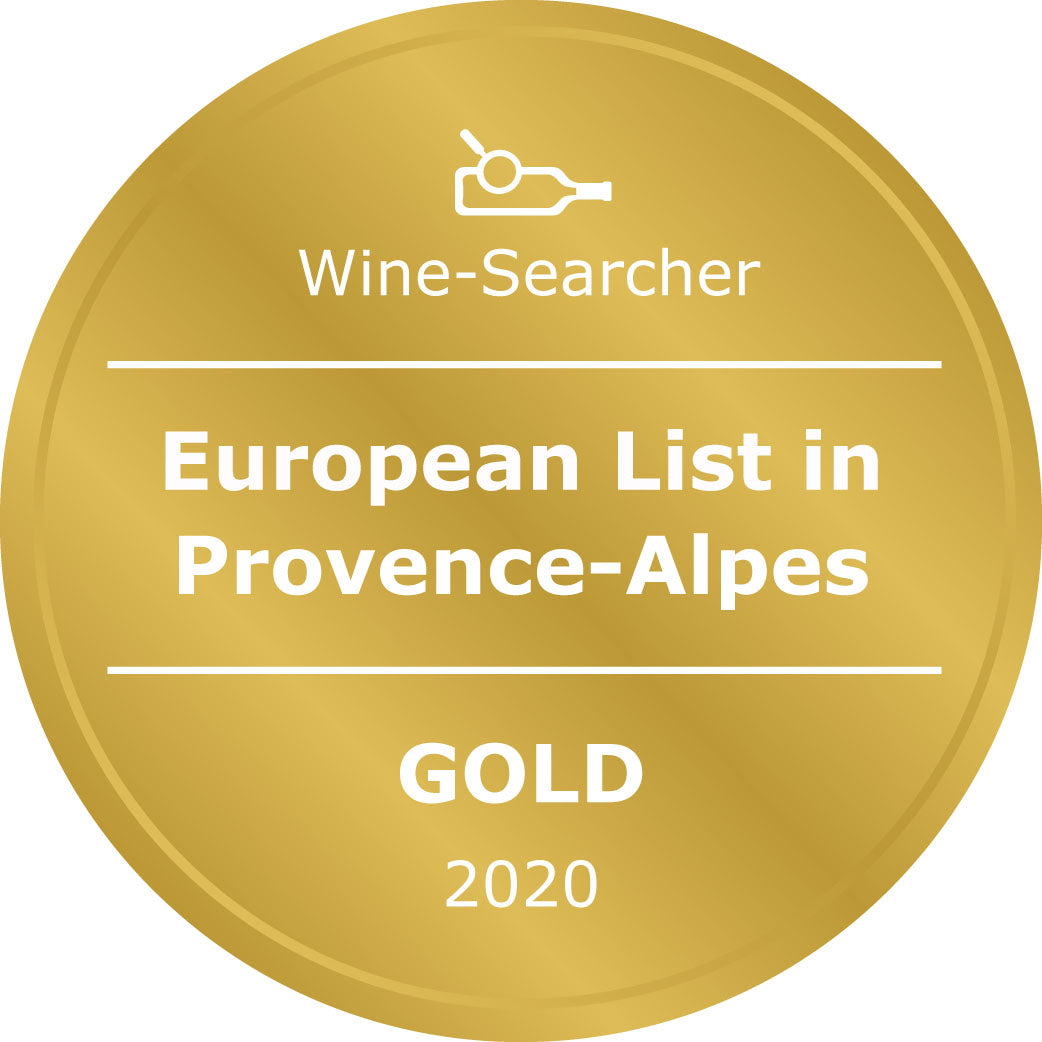 Award wine wine list for Provance, Antibes wine shop supplying wines to yachts
