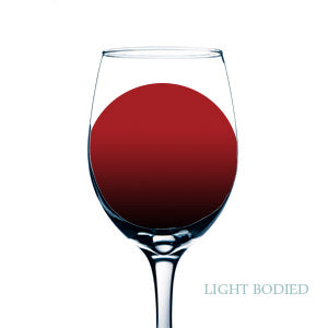 Light bodied red wines for yachts
