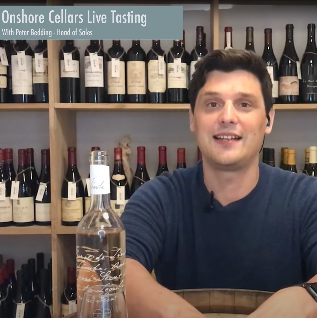 Online Tasting Events hosted by our in-house wine expert Peter Bedding