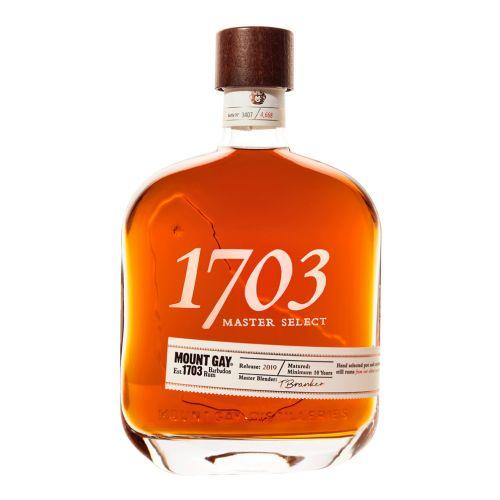 Barbados Spirits 70cl Mount Gay - 1703 - Master Select
