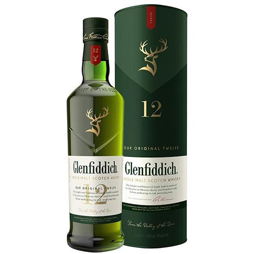 Glenfiddich Spirits 12yrs / 70cl Glenfiddich - 12 yrs