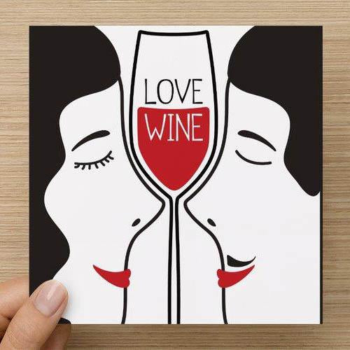 Onshore Cellars Gifts Valentines Day Card