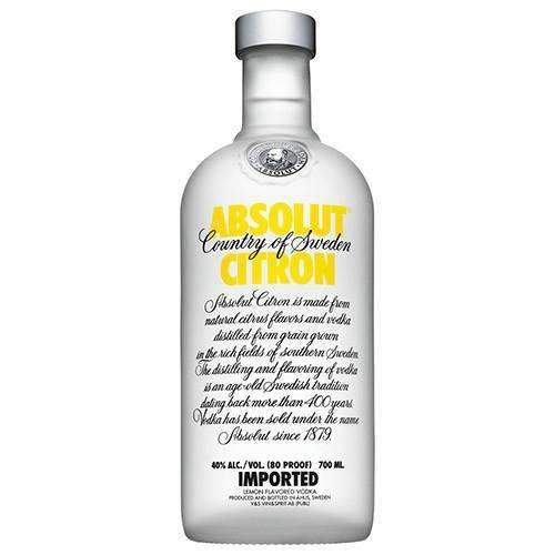 Sweden Spirits 70cl Absolut - Citron