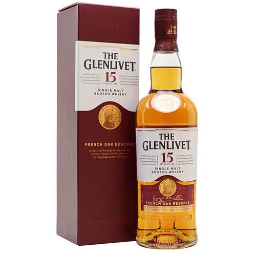 The Glenlivet Spirits 15yrs / 70cl The Glenlivet - 15 yrs - French Oak Reserve