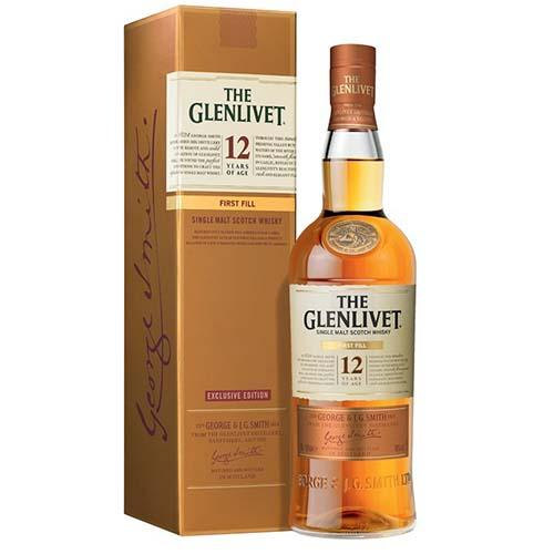 The Glenlivet Spirits The Glenlivet - 12 yrs - First Fill Exclusive Edition