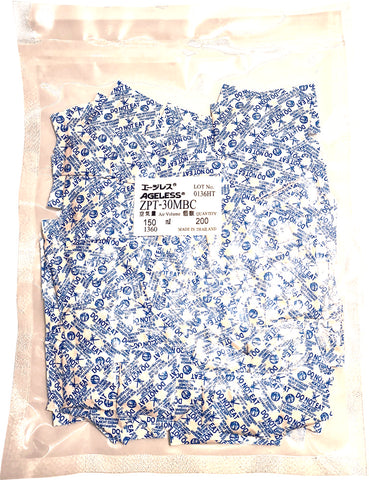 Oxygen Absorbers (Ageless brand) - 30cc - Type ZPT