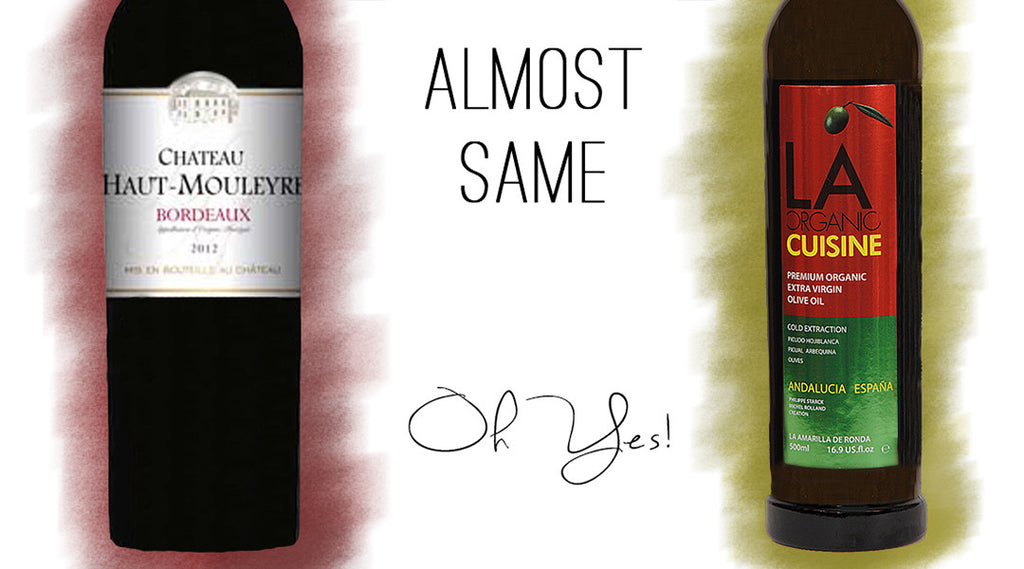Wine & Olive Oil: Similar, really?