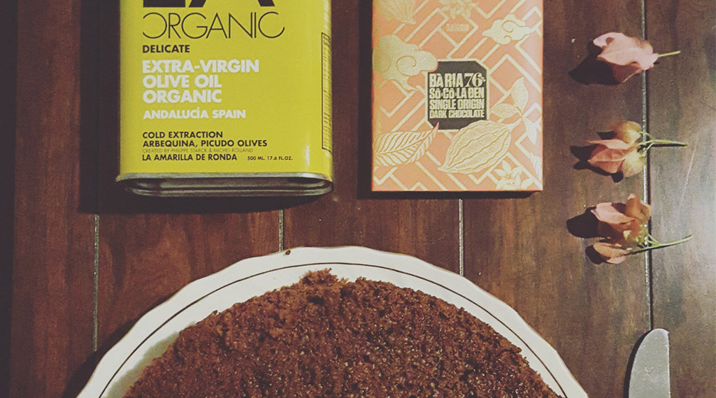 Chocolate Cake with LA Organic Olive Oil & Marou Chocolate