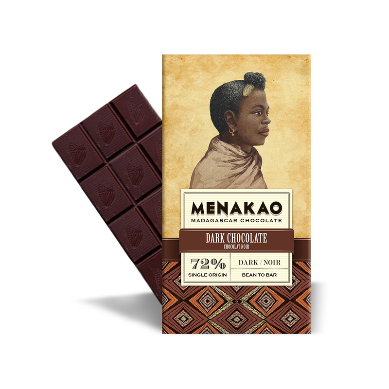Menakao | 72% Single-Origin Dark Chocolate, 75g
