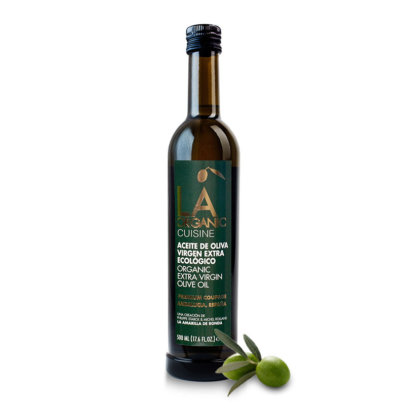 LA Cuisine | Cold Pressed Organic Extra-Virgin Olive Oil, 500mL