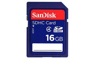 Sandisk 16GB SDHC Memory Card Class 4