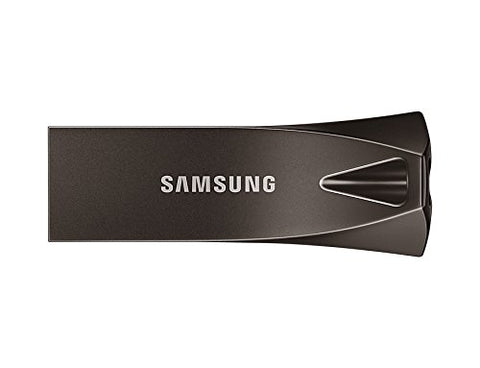 Samsung SACLE256BE4 USB Flash Drive 256 GB USB 3.1 Up to 300 MB/s Bar Plus - Titan Grey