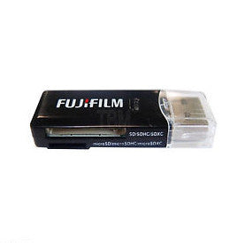 Fuji Dual Slot SD Memory Card Reader
