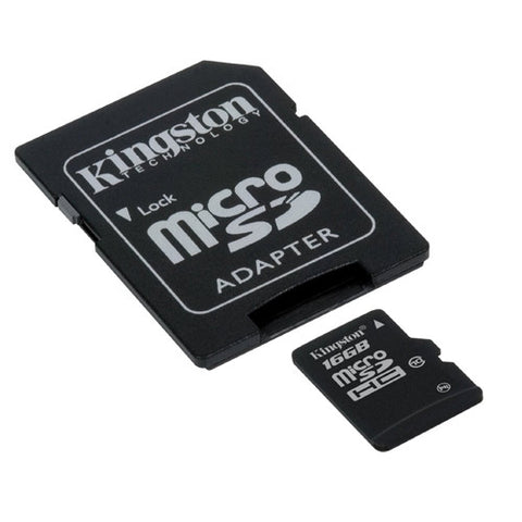 Kingston 16GB Micro SD Memory Card Class 10