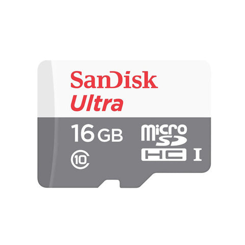 Sandisk 16GB Ultra Micro SD Card Class 10 UHS-1