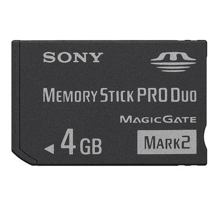 Sony 4GB Memory Stick Pro Duo Mark 2