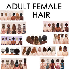 ADULT FEMALE HAIR PDF