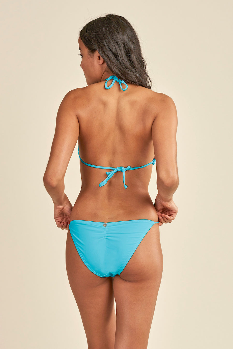 ESSENTIALS tie side bikini bottom