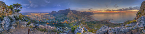 Lion's Head Sunset to Dusk - Print Special