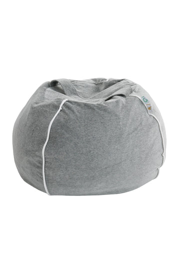 velvet Grey bubble beanbag