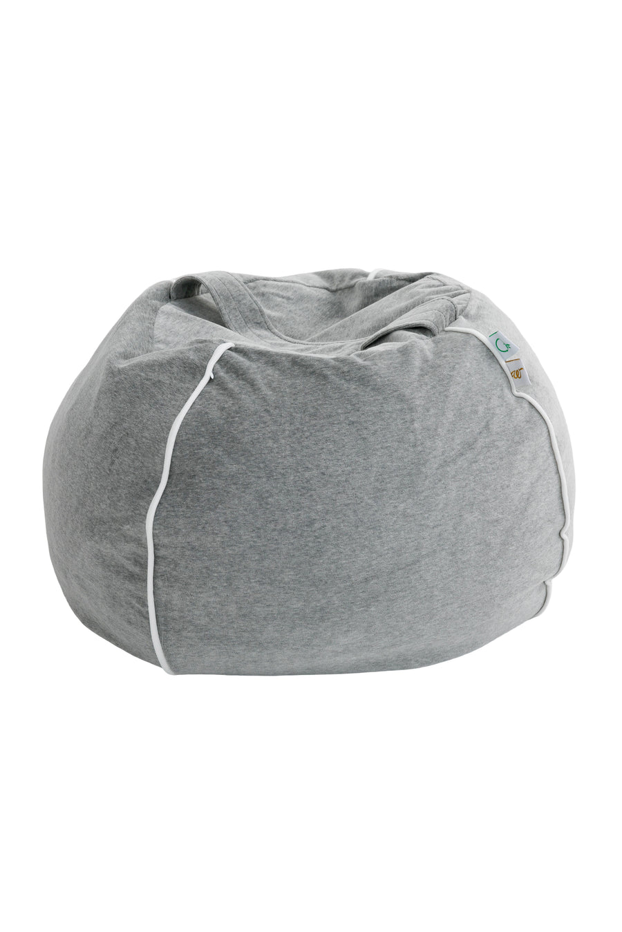 Bubble beanbag in velvet Grey
