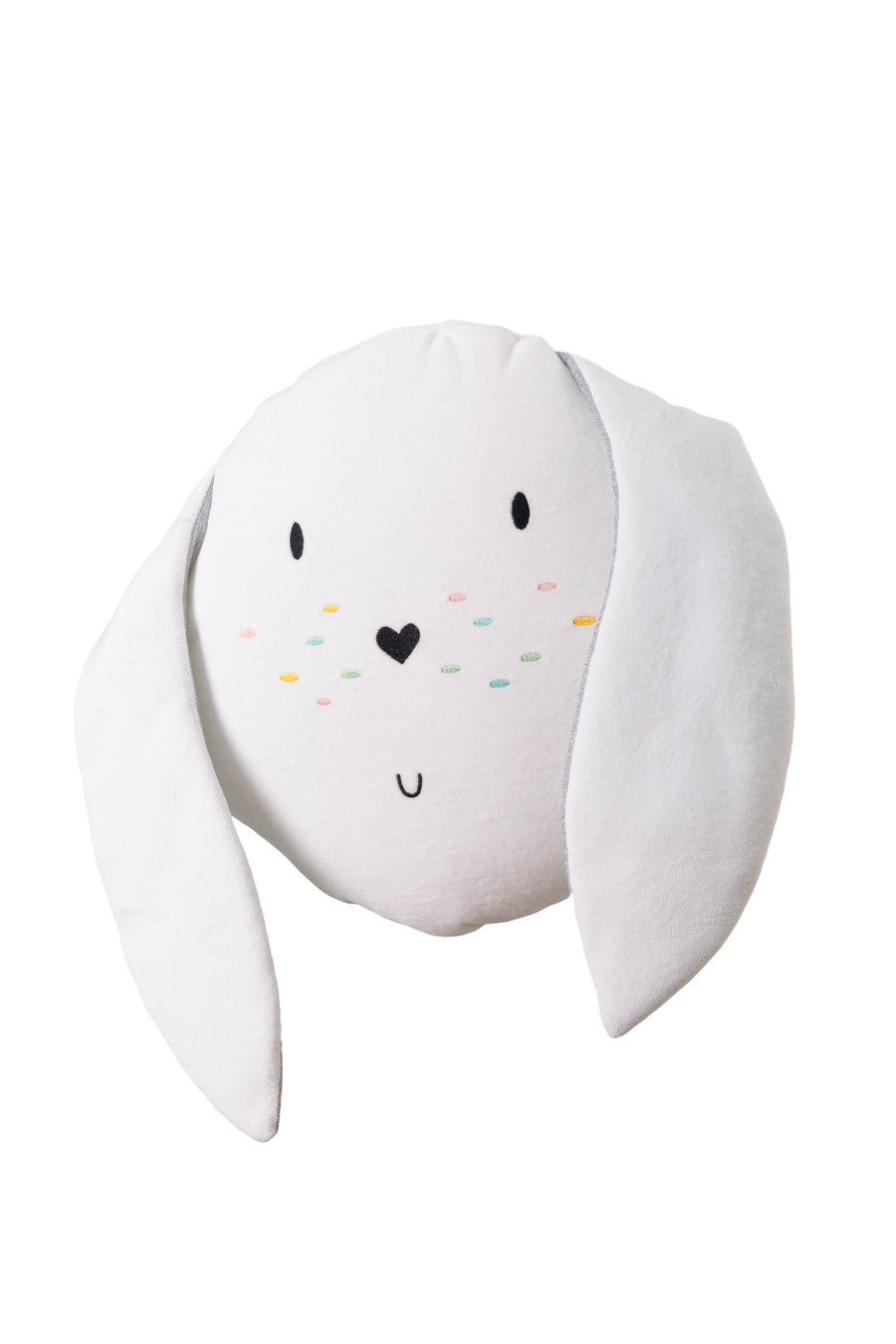 Bunny cushion in White