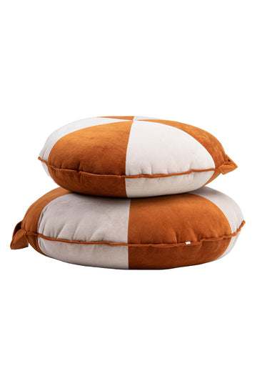 Cookie Beanbag Cinnamon & Beige