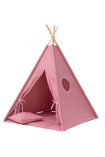 Plain Blush Pink Teepee Set