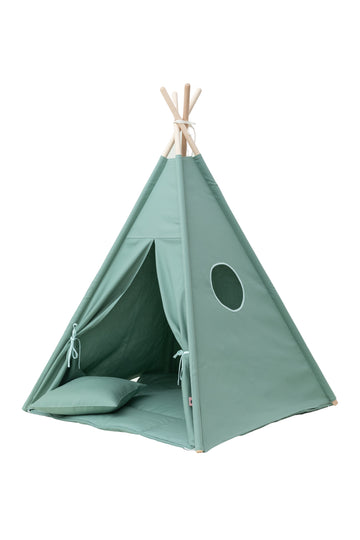Plain Olive Green Teepee Set