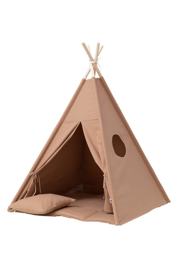 Plain Warm Beige Teepee Set